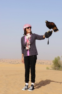The UAE region has practiced falconry for over 2,000 years