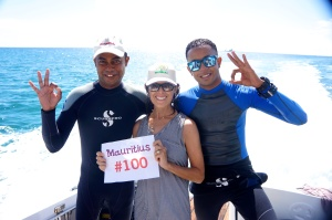 Scuba diving the Indian Ocean in country #100 ~ Mauritius