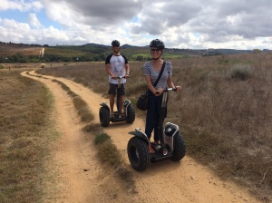 """No one ever eats sh*t on a segway!"""