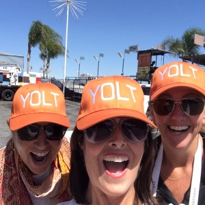 Jae, me and Kristin enjoying a YOLT day!
